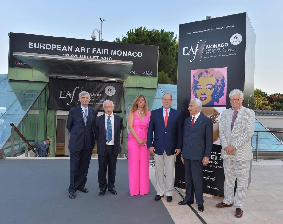 Le prince Albert II a officiellement inauguré hier soir l'exposition au Grimaldi Forum, prévue pour durer jusqu'à dimanche.