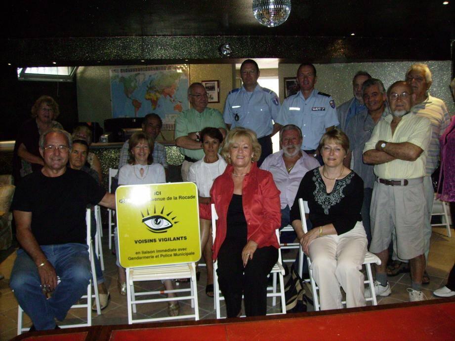 La première chaîne de vigilance a été créée en 2007 par Sylviane Douay, quartier de la Rocade. Depuis la ville en compte 48 qui veillent à la sécurité des voisins