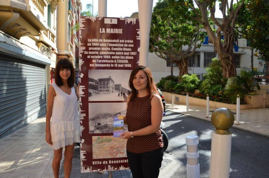 Nelly et Déborah vous accueillent à l'Office de tourisme de Beausoleil pour plus d'informations et vous remettront un dépliant sur l'itinéraire en détails.