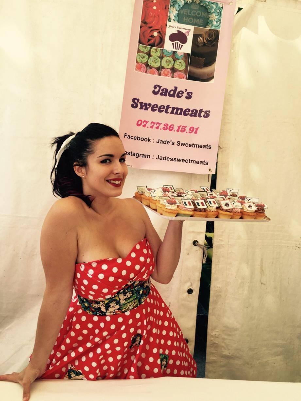 Jade est une amoureuse des gâteaux «à l'américaine» et en confectionne de toutes sortes et en quantité dans sa cuisine.
