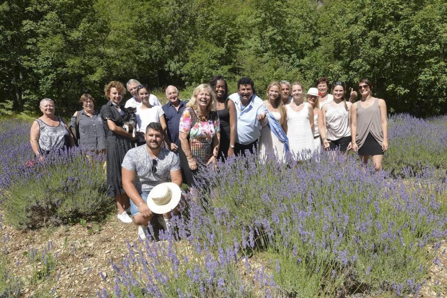 C'est entourée de ses amis que Chantal Roux a célébré les 70 ans de la source parfum à la Lavanderaie de Marie