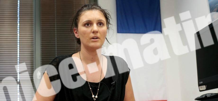 Sandra Bertin, chef du centre de supervision urbain de Nice.
