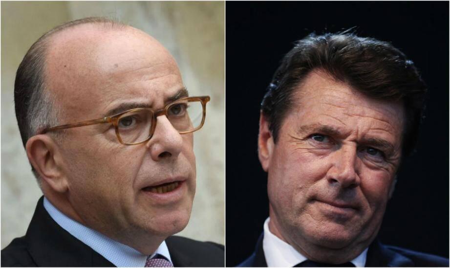 Bernard Cazeneuve et Christian Estrosi.