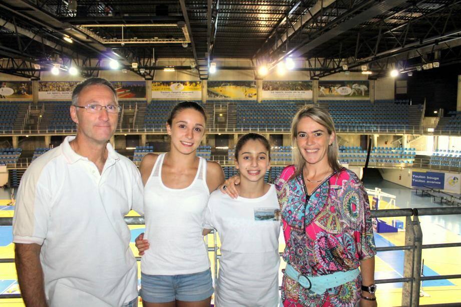 Eric, Loan, Oréane et Céline vont porter haut les couleurs de la gym française aux prochains JO de ce mois d'août.