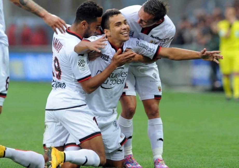 Le milieu de terrain brésilien Carlos Eduardo fera-t-il son retour à l'OGC Nice ?