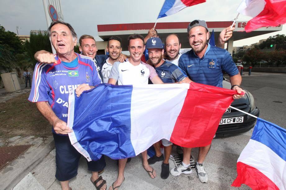 Galvanisés par leur aîné Clément, Vincent, Seb, Jacques, Hakim, Geoffrey, Guillaume, Dorian et leurs coéquipiers sont montés en force à Paris.