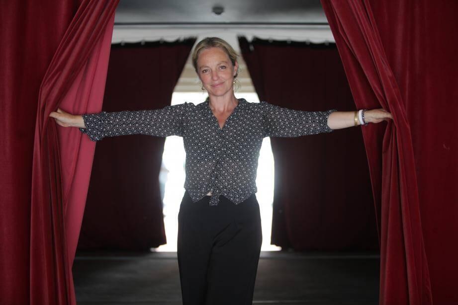 Irina Brook au théâtre National de Nice.