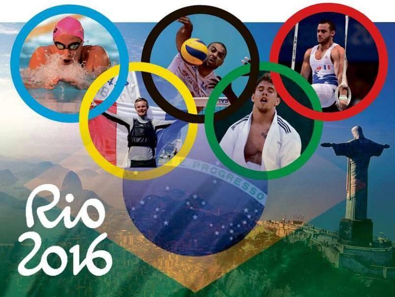 Les Jeux Olympiques de Rio auront lieu du 5 au 21 août.