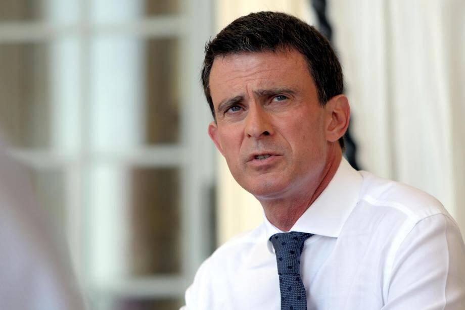 L'ex Premier ministre Manuel Valls.