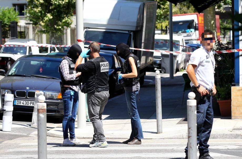 Perquisition chez Mohamed Lahouaiej Bouhlel, chauffeur du camion, qui a tué plus de 80 personnes à Nice le soir du 14-Juillet.