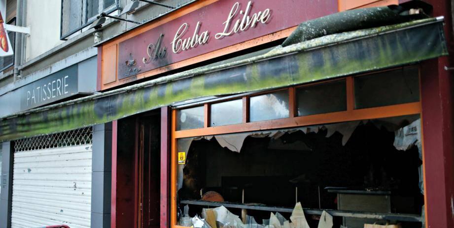 Incendie Cuba Libre Rouen
