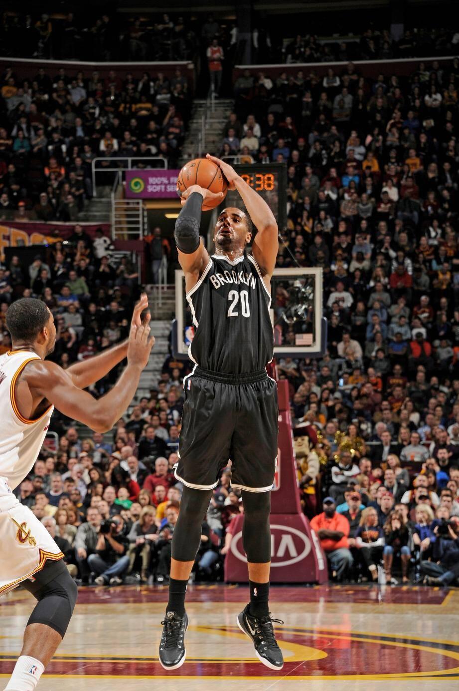 L'intérieur américain de 25 ans a déjà joué 78 matchs en NBA.