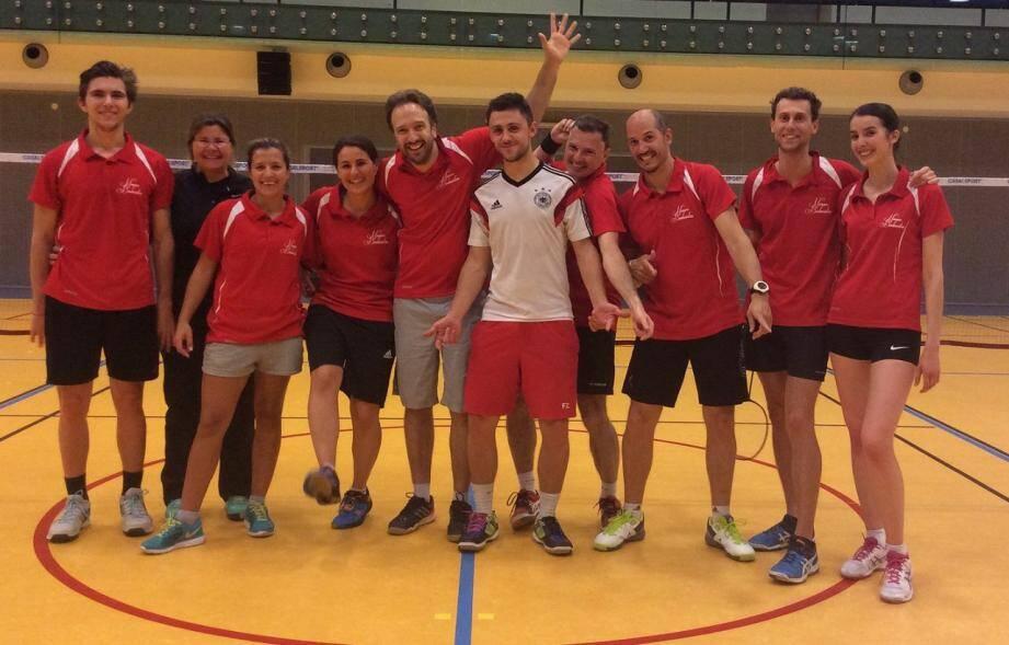 Le badminton se porte bien à Monaco et le club, dont les performances sont remarquables, est en plein essor.