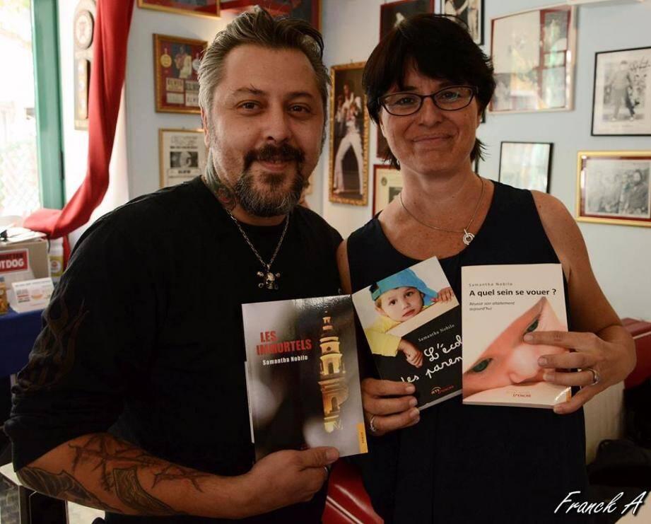 Samantha Nobilo dédicacera son troisième livre sur les histoires de la région, samedi après-midi.