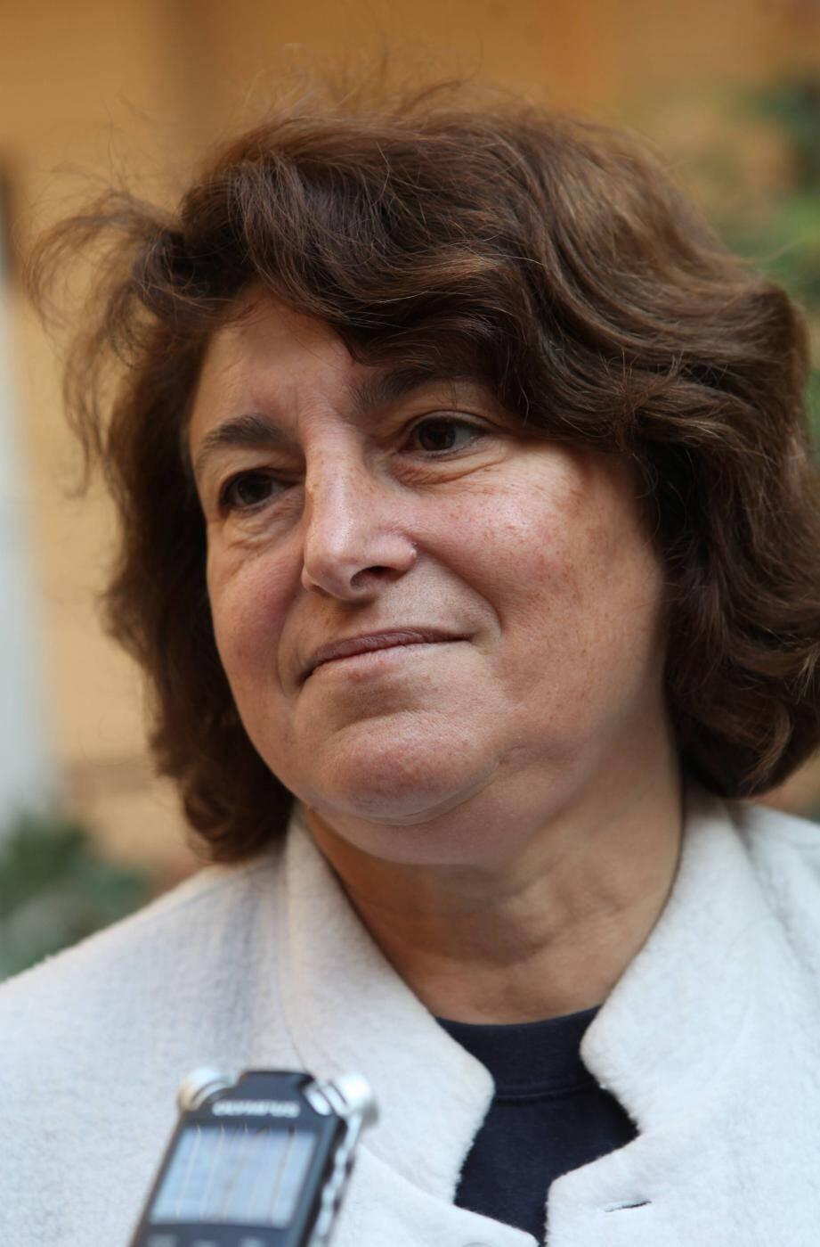 Le professeur Carole Ichai, chef de service en réanimation au CHU Pasteur.