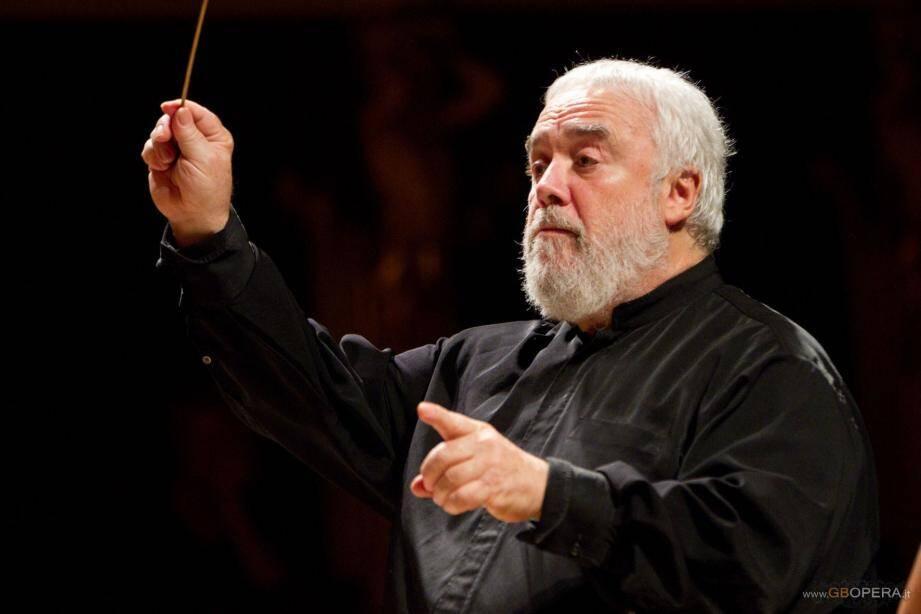 Dimanche, ce sera le dernier concert de Gianluigi Gelmetti en tant que directeur du Philharmonique de Monte-Carlo.(DR)
