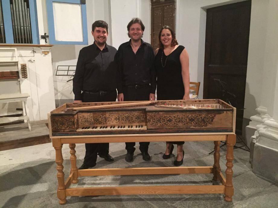 L'ensemble « I Musici di Santa Pelagia » proposera ce soir des airs sacrés vénitiens du XVIIe.(DR)