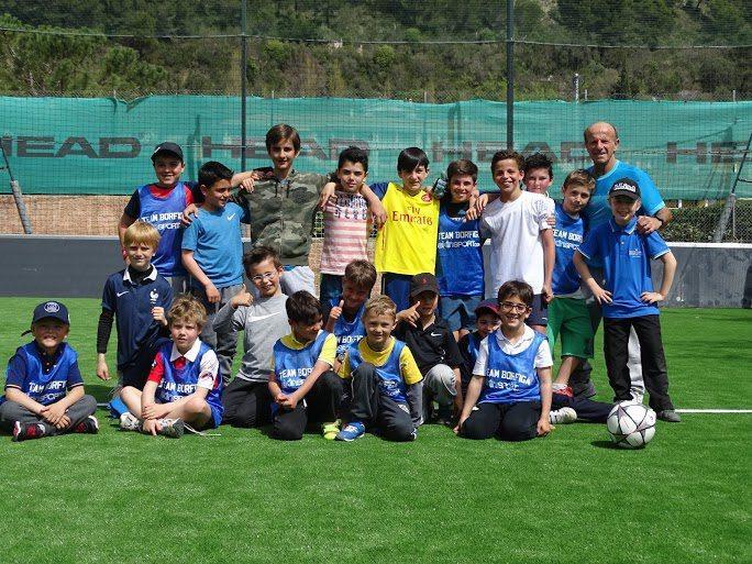 Le nouveau terrain de foot à 5 du club Borfiga à Eze accueillera des rencontres du Challenge Rainier-III dès la reprise du championnat.