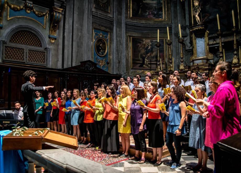 La chorale « Coràson » entamera le répertoire russe l'an prochain pour le centenaire de la Révolution d'octobre.(DR)