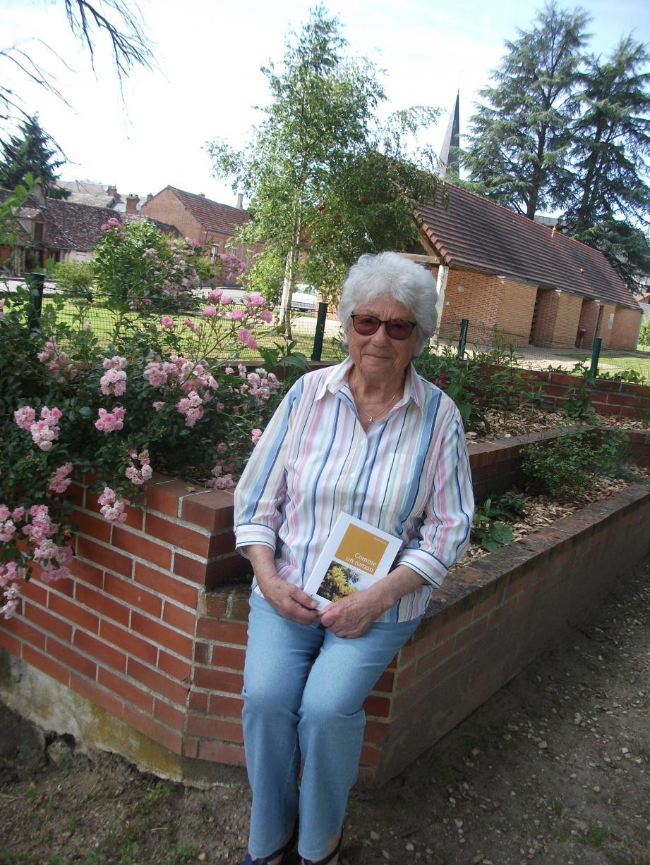 Renée Nivelle se consacre déjà à l'écriture d'un autre roman.                           (DR)