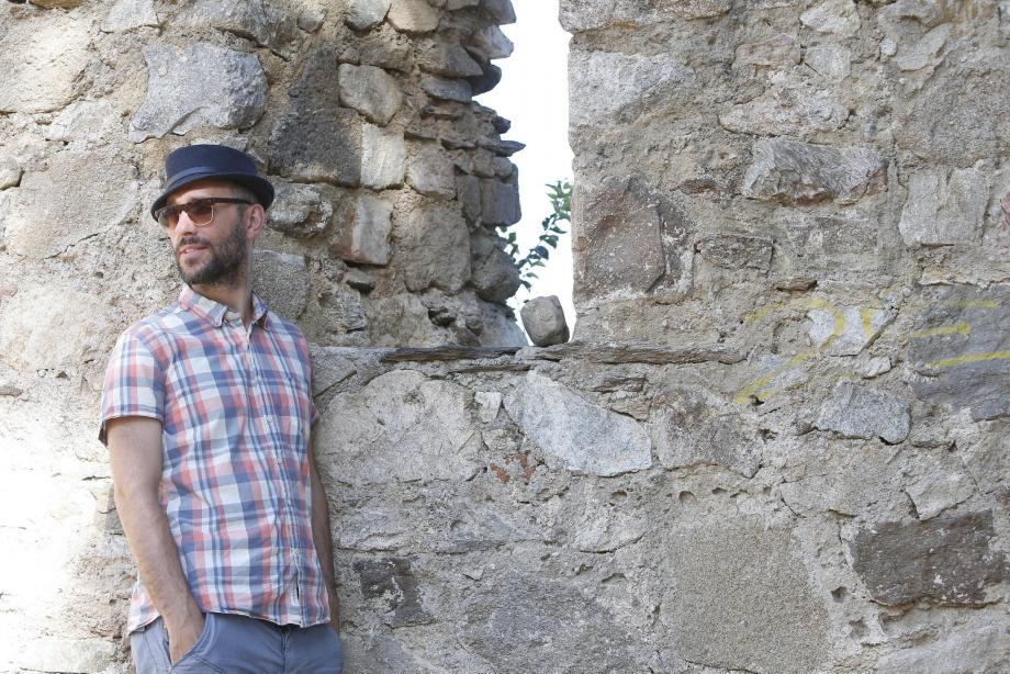 Le chanteur était récemment à Grimaud pour le  festival Les Grimaldines.