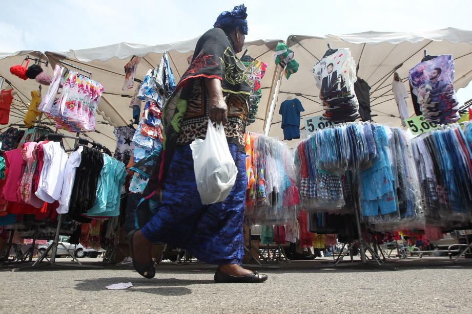 En janvier, le marché du dimanche devrait avoir déménagé de l'esplanade du Levant.