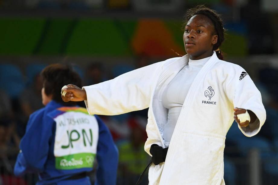 Clarisse Agbegnenou débloque le compteur du judo tricolore : médaille d'argent !