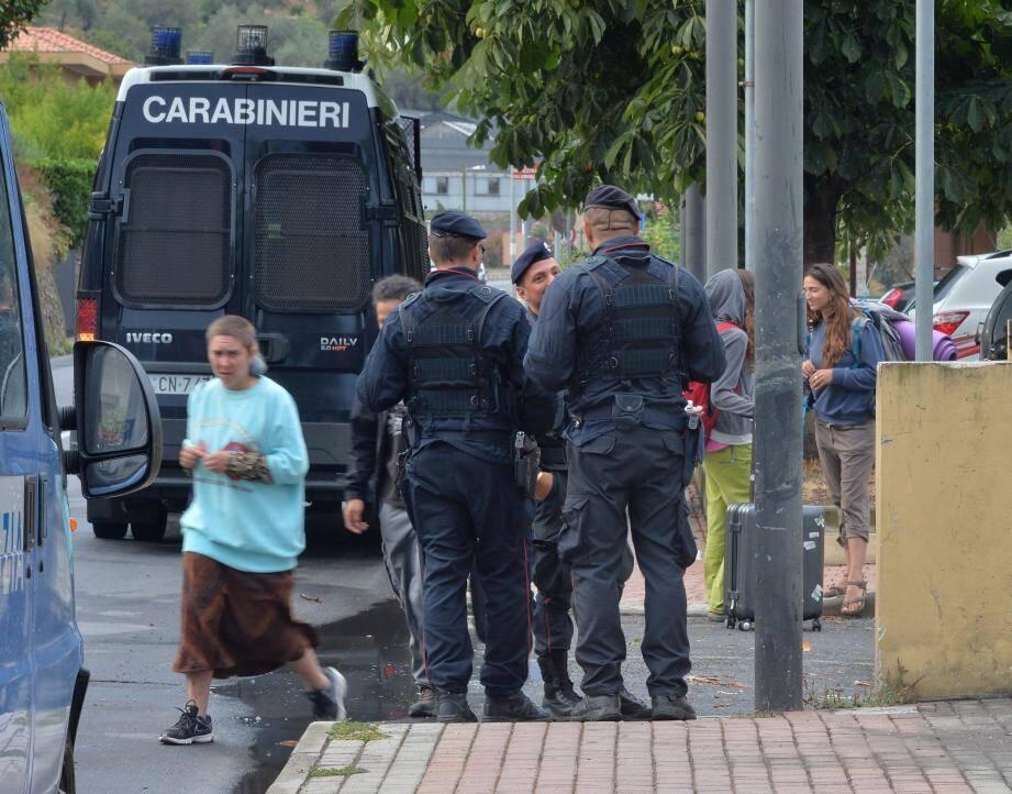 Les « No Borders  » de Camporosso se sont vus notifier une ordonnance d'évacuation sous 48 heures.