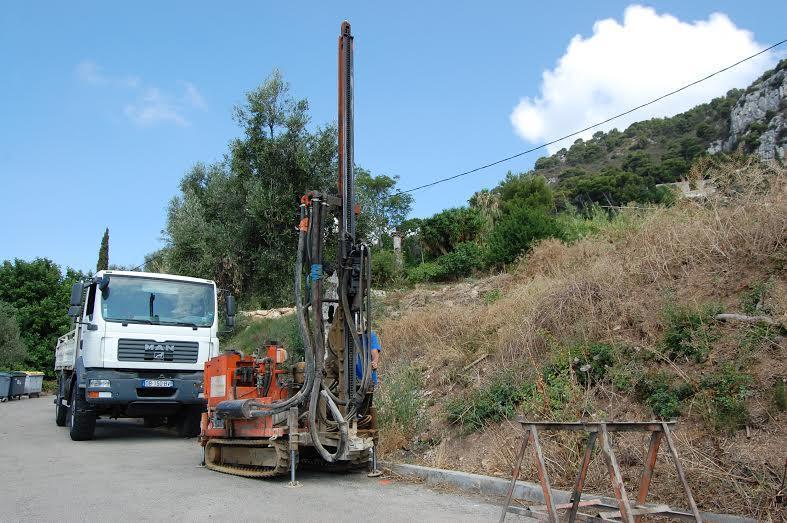 Jusqu'au 17 août, les travaux sont en cours au niveau du chemin de Sophie.
