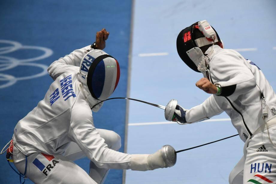 Daniel Jerent (à gauche) et l'épée ont brillé à Rio, décrochant l'or olympique. Bilan réussi pour l'escrime française avec trois médailles.