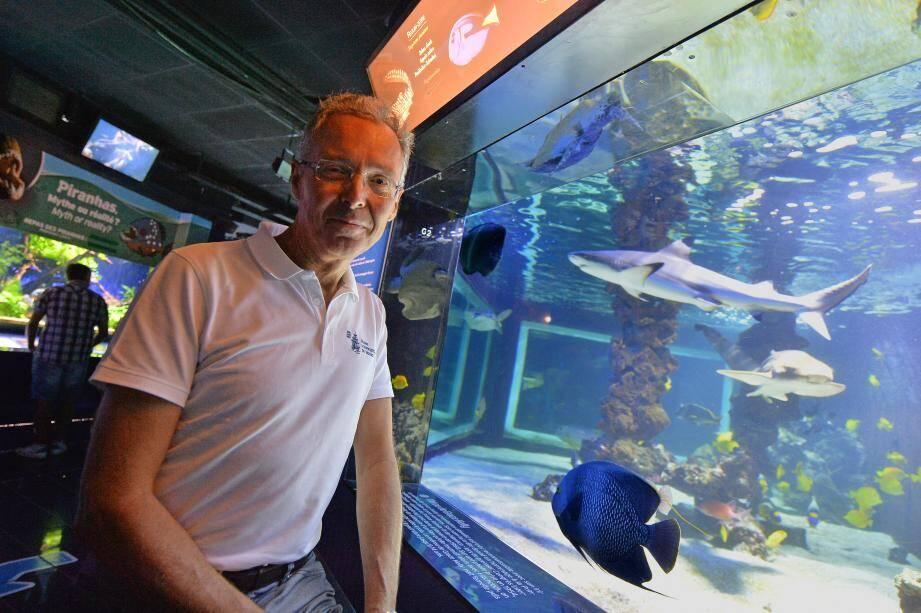 Robert Calcagno, hier au Musée océanographique, le jour de la sortie en salles du film qui l'a poussé à prendre la plume.