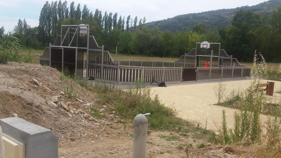 Un nouveau point d'eau offre aux visiteurs de quoi se rafraîchir et se désaltérer.