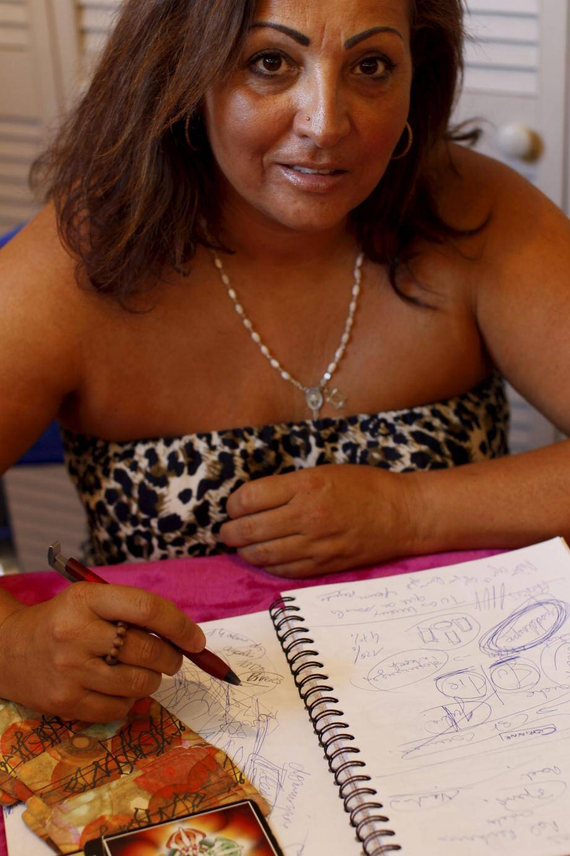 Nataly Devisconti est présente jusqu'à demain à l'hôtel Campanile pour le Festival d'Astrologie et de Voyance d'Antibes.