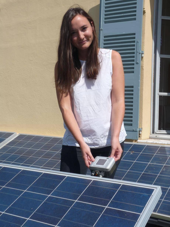 La mission première de Carine Giovinazzo est de suivre les consommation énergétique des 330 installations et bâtiments municipaux.