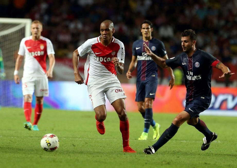 Fabinho et l'ASM ont livré une grosse prestation et battu logiquement le PSG de Motta et Cavani.