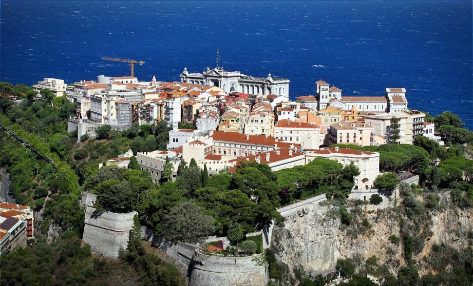 Vue panoramique de Monaco.