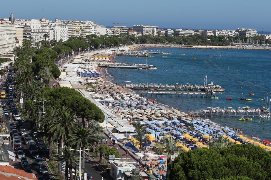 Cannes vue aérienne
