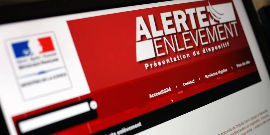 Illustration du dispositif de l'alerte enlèvement.