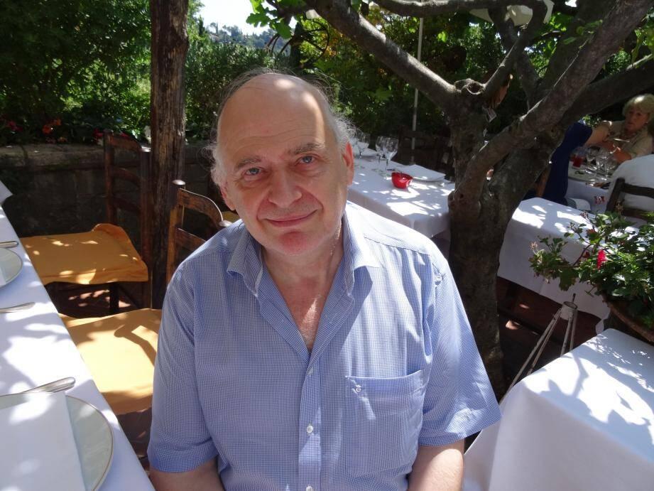 Laurent Petitgirard : « J'aime venir ici à La Colombe d'or pour composer.»