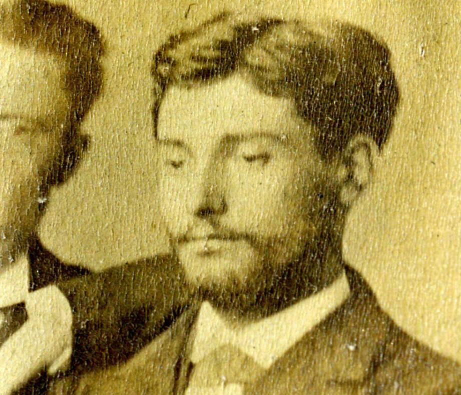 Le docteur Raymond Picaud alors âgé de 25 ans.