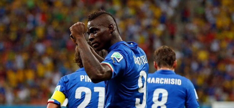 Balotelli sous le maillot de la Nazionale