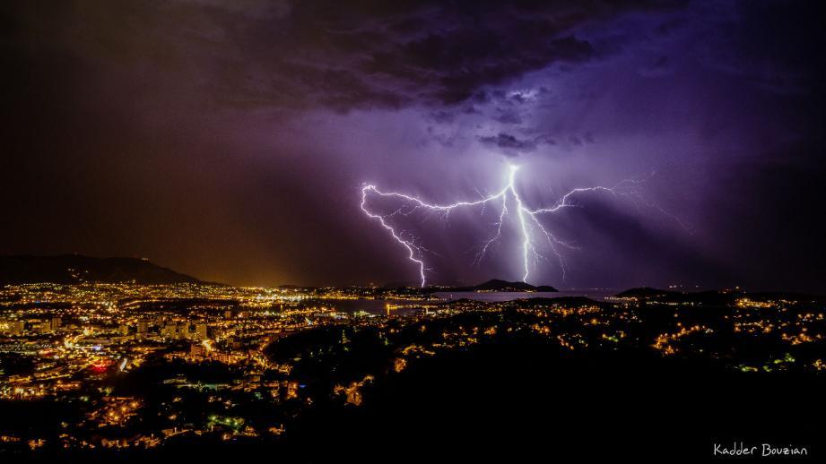 Des orages parfois violents sont attendus dans l'après-midi ce mercredi