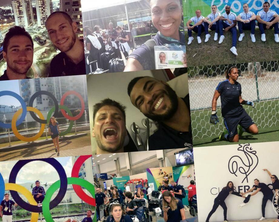 Les athlètes azuréens sont bien arrivés à Rio.