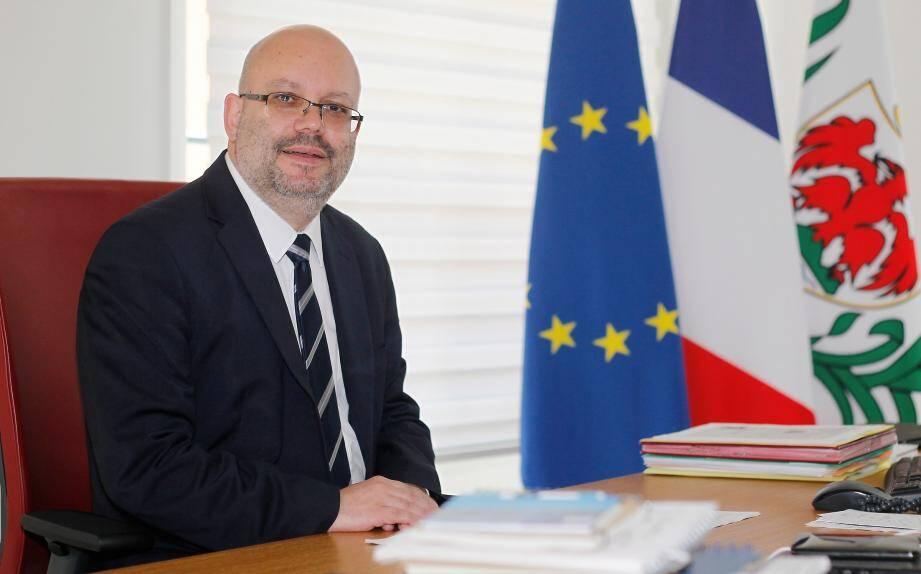 Philippe Pradal, nouveau maire (Les Républicains) de Nice.