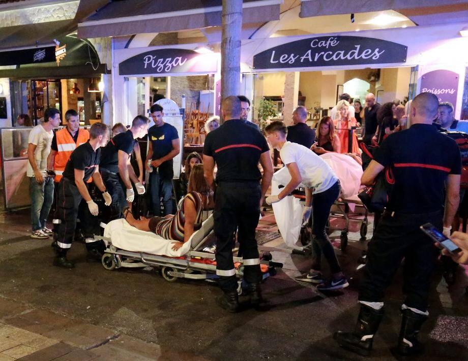 45 personnes ont été blessées.