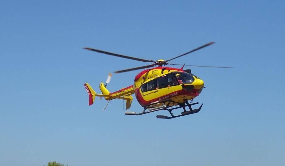 L'hélicoptère Dragon 83