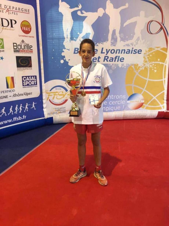 Gianni Bresciano, 16 ans, décroche le titre national aux championnats de France à Thonon.