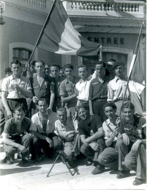 La brigade Saint-Juste, constituée de jeunes résistants de Monaco et Beausoleil.