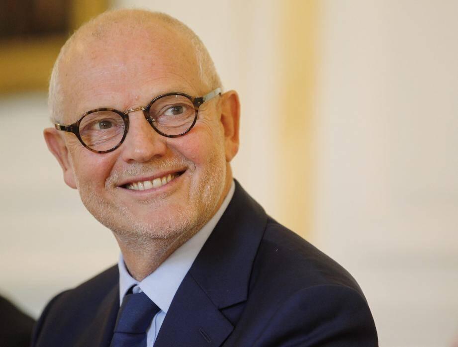 Serge Telle, ministre d'Etat depuis février, a évoqué de nombreux sujets qui font l'actualité de la Principauté.
