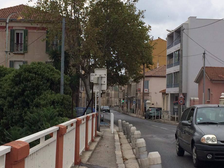L'avenue Fontan sera réhabilitée. Le chantier sera étalé sur dix mois et financé par la Ville, l'agglomération toulonnaise et le Département.
